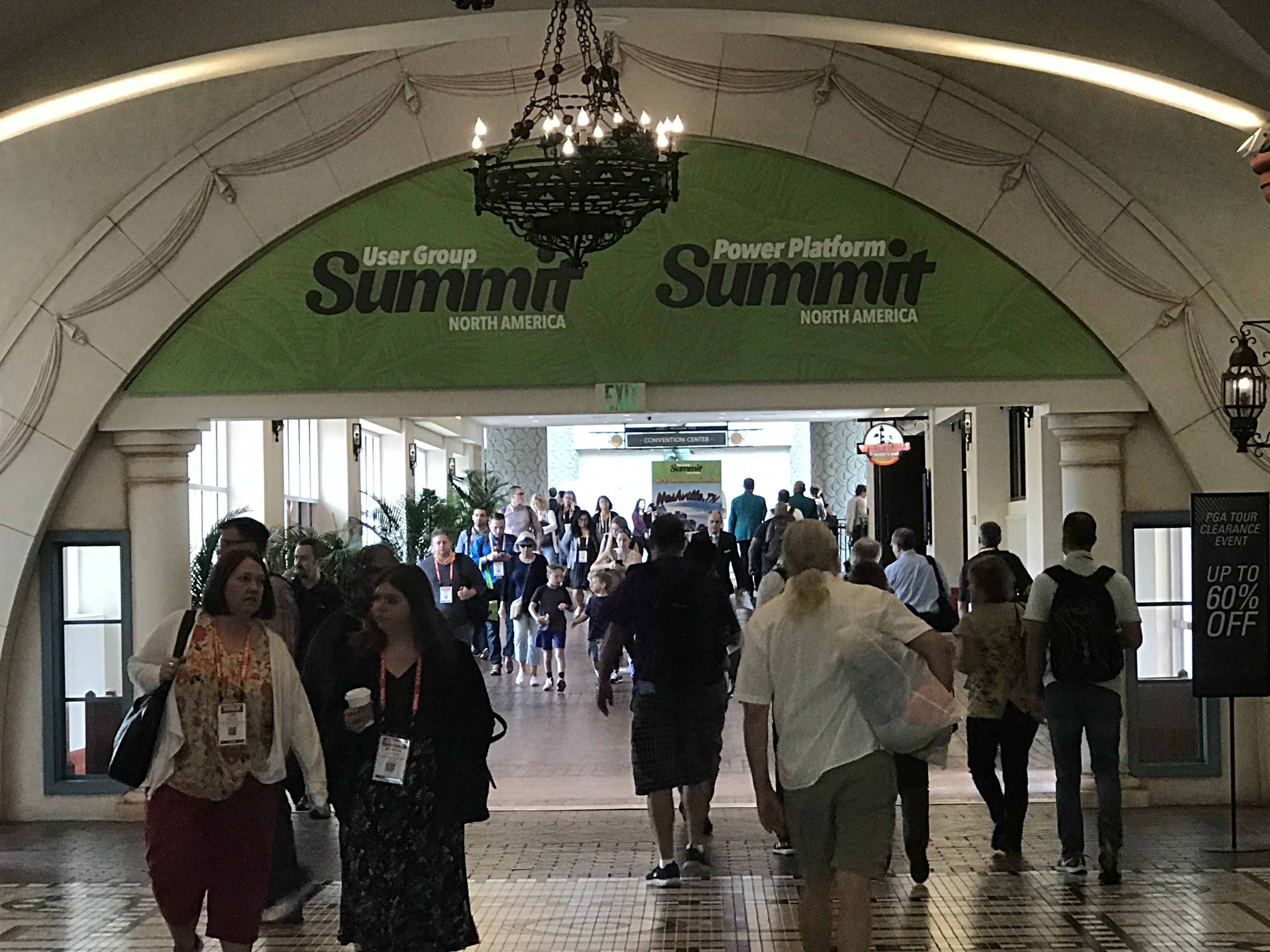 Crowd of people at a conference | Summit 2019