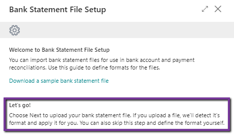 Have a downloaded transaction file from your bank ready for the next step.